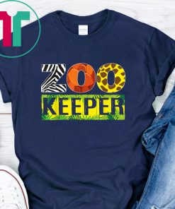 Zoo Keeper Wildlife Animal Lover Funny Gift Shirt