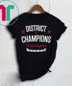 Washington District of Champions 2019 T-Shirt