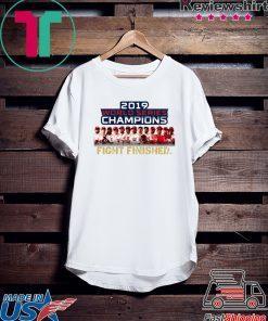 Washington DC World Series Champions Fight Finished 2019 Shirt