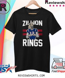 ZILLION RINGS UNISEX TSHIRT